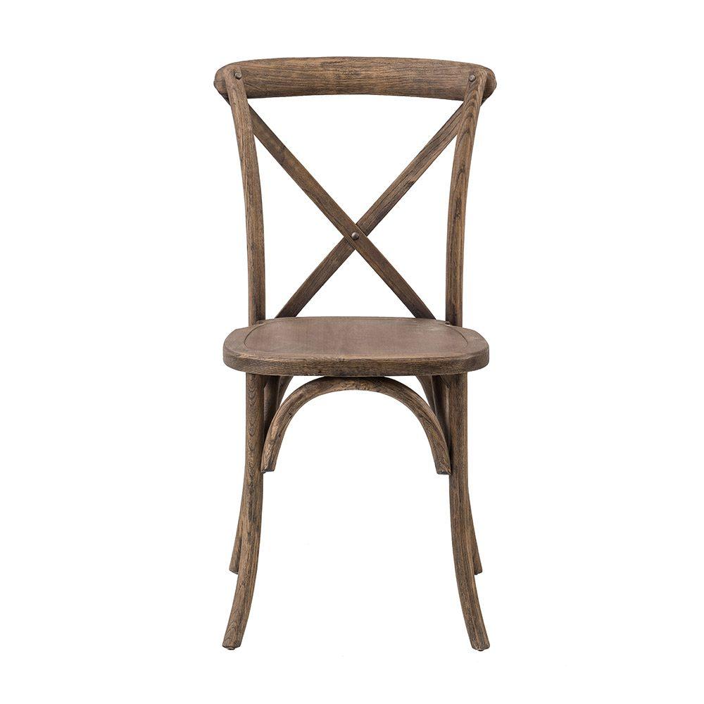 Dark Walnut Crossback Chair